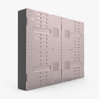 3D Sci-Fi Anodized Panel 5 model