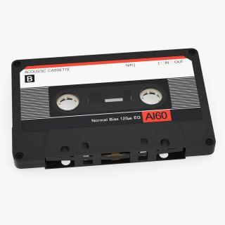Audio Cassette Tape 3D model
