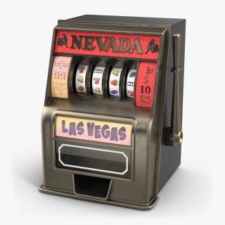 3D model Vintage Slot Machine