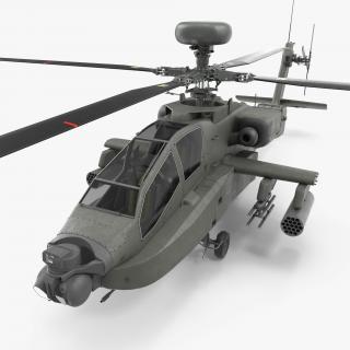 3D AH-64D Apache Longbow
