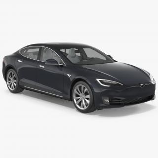 Tesla Model S 75D 2017 3D
