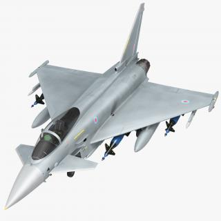 Fighter Eurofighter Typhoon 3D