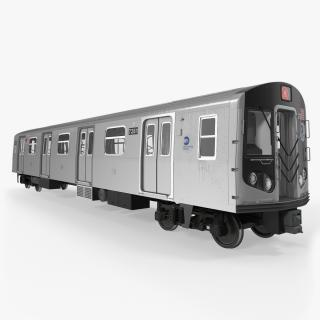 New York City Subway Car R160 3D model