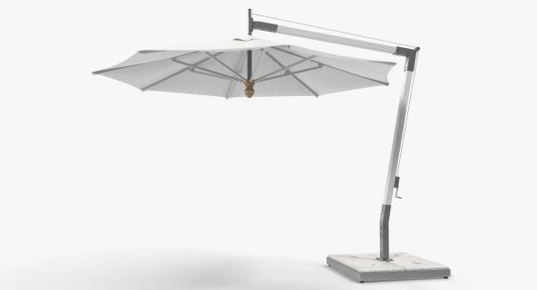 3D Offset Patio Umbrella