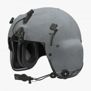 3D US Helicopter Pilot Helmet