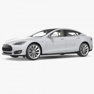 3D Tesla Model S 75 2015
