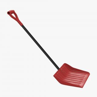 Snow or Utility Shovel 3D