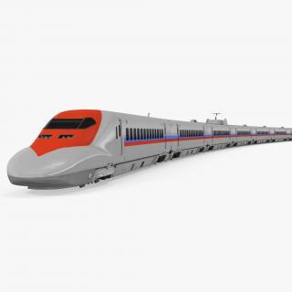 3D Speed Train Generic 2