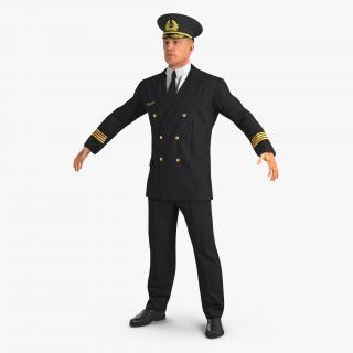 3D Airline Pilot model