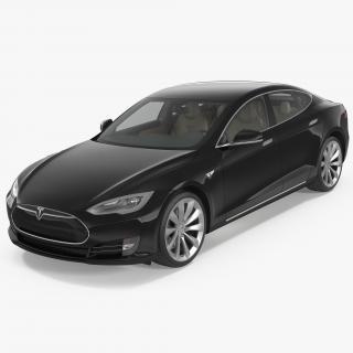 Tesla Model S P100D 2015 3D model