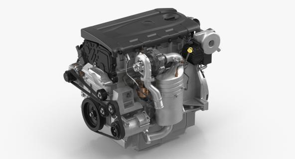 Turbo Diesel Engine 1.6 Liter 3D model