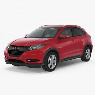 Compact SUV Honda HR-V 2017 3D
