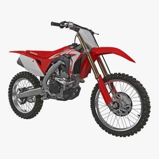 3D Competition Motorcycle Honda CRF250R 2018