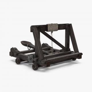 Medieval Catapult 3D