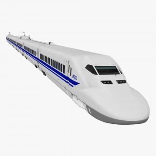 3D Bullet Train JR700 Japan Railways model