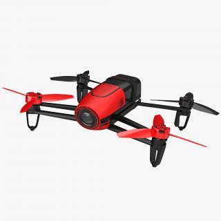 Parrot Bebop Quadcopter Drone 3D model