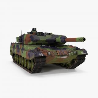 3D model German Battle Tank Leopard 2A5