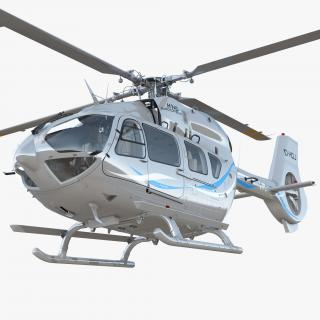 Corporate Transport Helicopter Airbus H145 3D