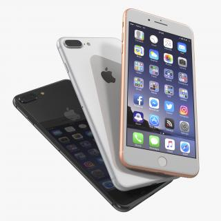 iPhone 8 Plus Set 3D