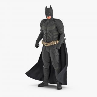 3D Batman Rigged model