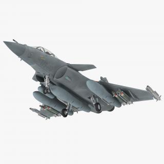 Dassault Rafale Rigged 3D