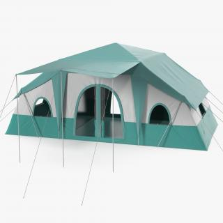 Camping Tents Collection 3D model