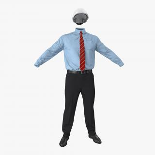 Construction Engineer Uniform 3D model