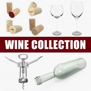 3D model Wine Collection