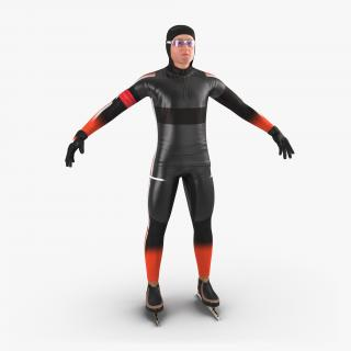 Speed Skater 2 Generic 3D