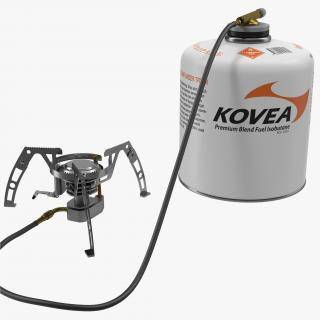 Portable Camping Gas Stove 2 Kovea 3D model