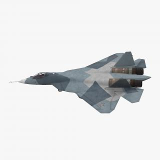 3D Sukhoi T-50 PAK FA model