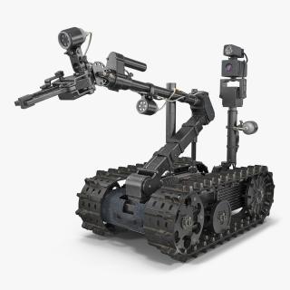 Sapper Robot Rigged 3D model