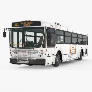 3D Bus Nabi Model 416 model