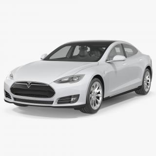 3D model Tesla Model S 100D 2015 Rigged