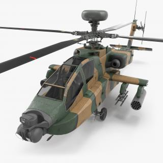 AH-64D Apache Longbow Japan 3D