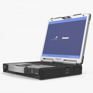 Panasonic Toughbook 3D model