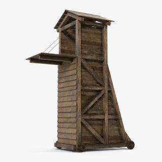 3D model Medieval Siege Tower