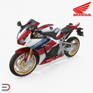 3D Honda CBR 1000RR Fireblade 2016