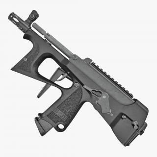 Submachine Gun PP-2000 3D