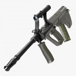 AUG Steyr A1 Austrian Carbine 3D model