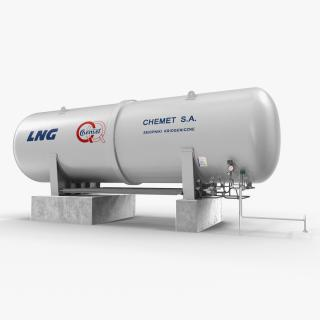 3D LNG Cryogenic Storage Tank