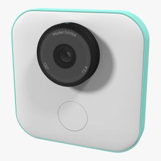 3D Google Clips Wireless Camera model