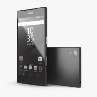 3D model Sony Xperia Z5 Black