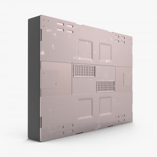 3D Sci-Fi Anodized Panel