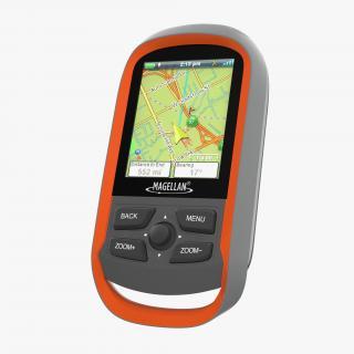 Waterproof Hiking GPS Magellan Explorist 310 3D model