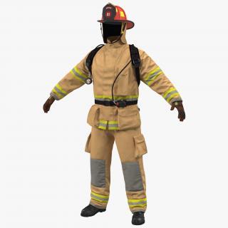 Firefighter Uniform 3D model