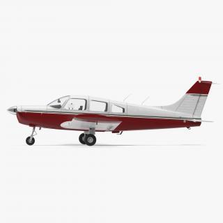 3D model Personal Propeller Aircraft Generic