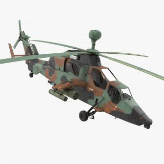 3D Eurocopter Tigre Spanish Army Rigged