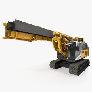 Drill Machine Bauer RG16T Folded 3D