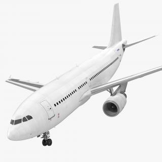 3D Airbus A310-300 Generic model
